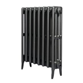 4 Column cast iron radiators 660mm side view